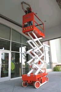 Where to find SCISSOR LIFT 19  NARROW in Mason