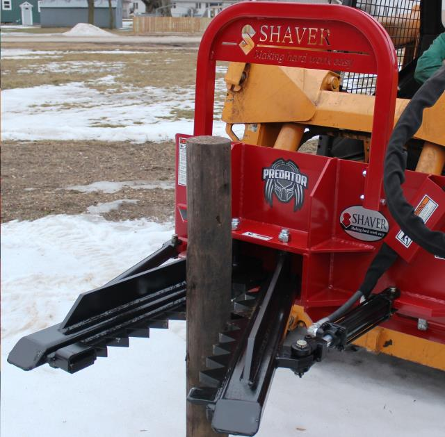 Where to find EXTRACTOR, SKID STEER in Mason